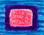 Please Stay a While 2011 406 x 508mm £450