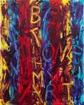 Be at one with my art 2010 Be at one with my art 2010 51cm x41cm £450